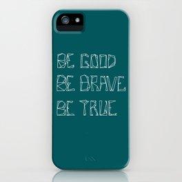 Be Love [in mid ocean teal] iPhone Case