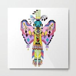 Kachina Butterfy 7 Metal Print