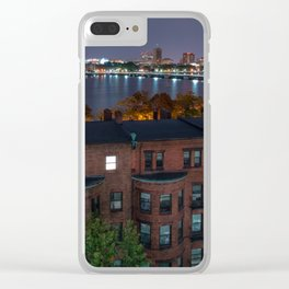 Boston Architecture Clear iPhone Case