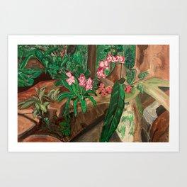 flora fish Art Print