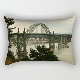 Yaquina Bay Bridge Rectangular Pillow