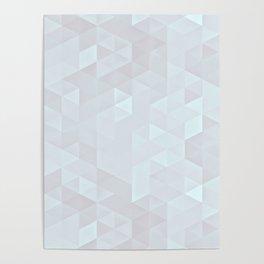 Experimental Triangle II Poster