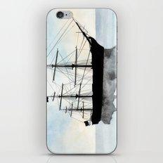 HMS Victory Watercolour iPhone & iPod Skin