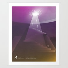 Close Encounter of the Fourth Kind - Invitation Art Print