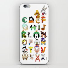 That's Alphabet Folks iPhone & iPod Skin
