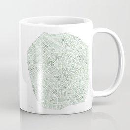 Milan Italy watercolor map Coffee Mug