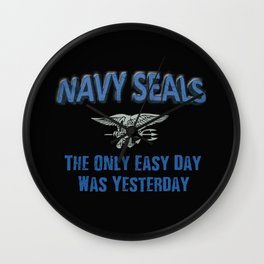 Navy Seals Wall Clock