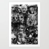 horror Art Prints featuring Horror by Sinister Star