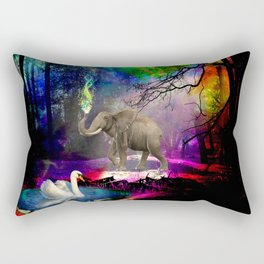 Fantasy forest Rectangular Pillow