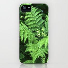 Mountain Bouquet iPhone Case