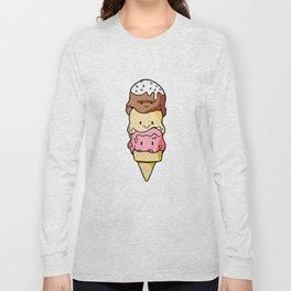 Ice Cream Long Sleeve T-shirt