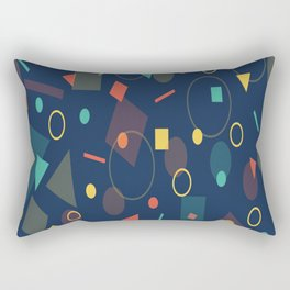 background geometrc Rectangular Pillow