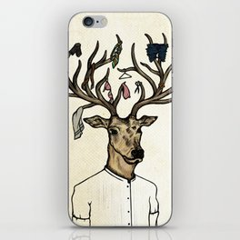 Evicted deer iPhone Skin