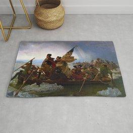 Washington Crossing the Delaware by Emanuel Leutze (1851) Rug