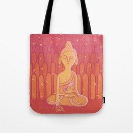 Buddha E Tote Bag
