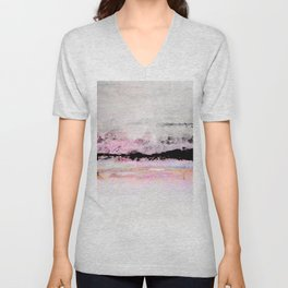 abstract sky view Unisex V-Neck