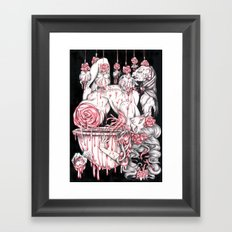 Homenage to Erszebeth Bathory Framed Art Print