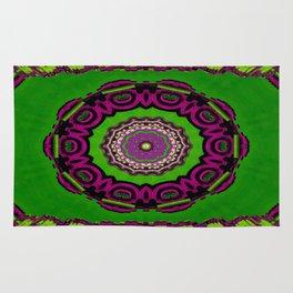 Mandala decorative and meditative Rug
