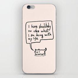 Little Cat iPhone Skin