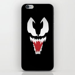 Minimalist Venom iPhone Skin