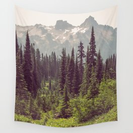 Faraway - Wilderness Nature Photography Wall Tapestry