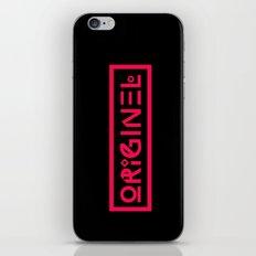 Originel rouge iPhone & iPod Skin