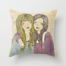 I'll Be There With Bells On Throw Pillow