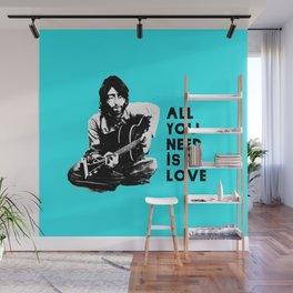 "Lennon ""All You Need Is Love"" Wall Mural"