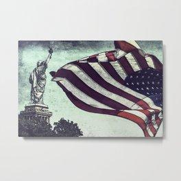 Liberty Metal Print