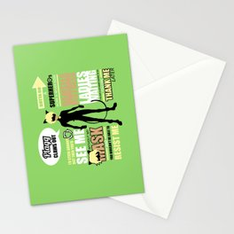 Cat Noir Quotes Stationery Cards
