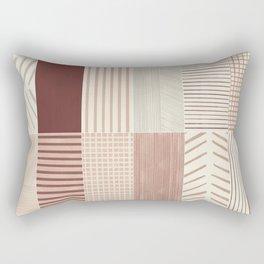 Rustic Tiles 01 Rectangular Pillow