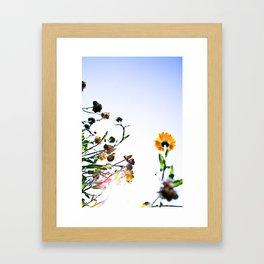 Criss-cross Framed Art Print