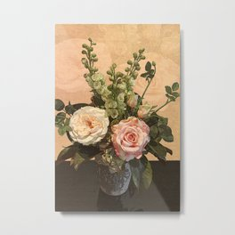 Rose Painting Metal Print