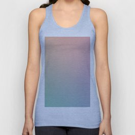 HOLOGRAPHIC - Minimal Plain Soft Mood Color Blend Prints Unisex Tank Top