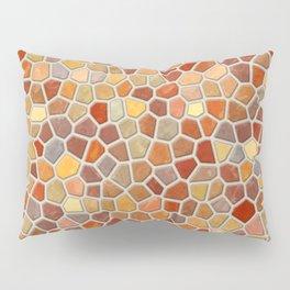 Fall Colors Mosaic Pattern - light Pillow Sham