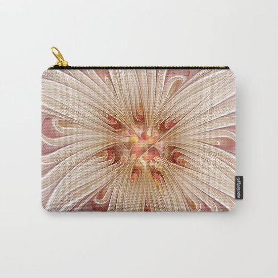 A floral Beauty, abstract Fractal Art Carry-All Pouch