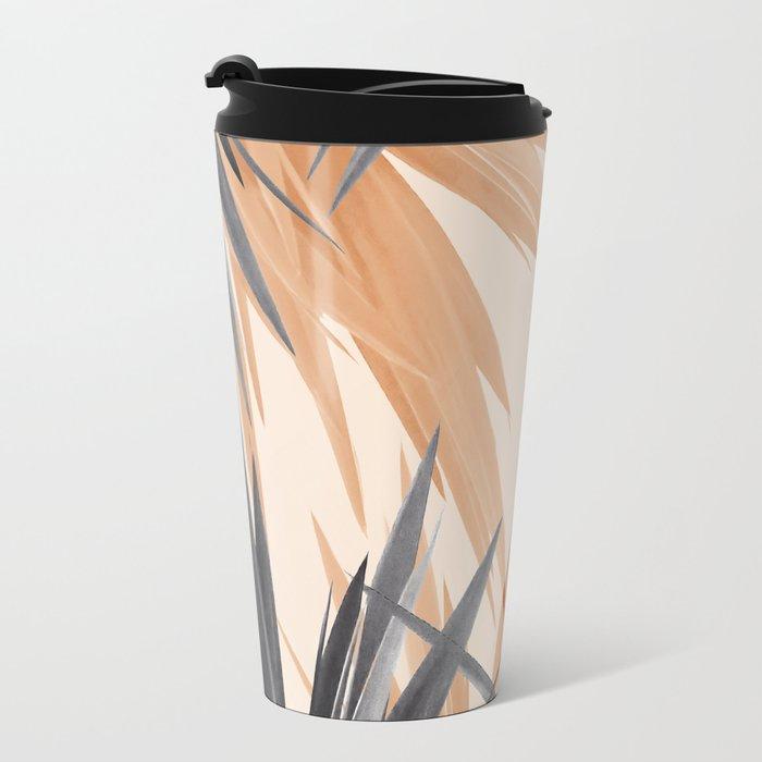 Orange Tropics Travel Mug