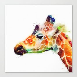 The Graceful - Giraffe Canvas Print
