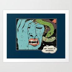 Mythical World Problems Art Print