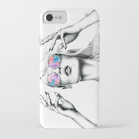 iggy azalea iPhone & iPod Cases featuring Iggy Azalea 2 by Tiffany Taimoorazy