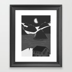 Miss You Framed Art Print