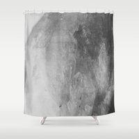 crystal Shower Curtains featuring Crystal by Neon Wildlife