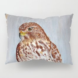 Hawk In Winter Pillow Sham
