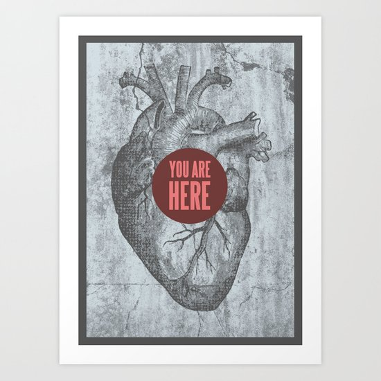 In My Heart Art Print