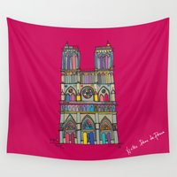 architecture Wall Tapestries featuring Architecture by PINT GRAPHICS