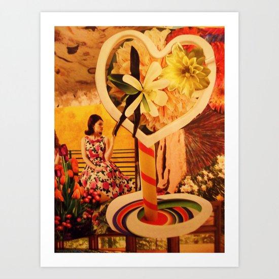 Vacancy Zine -The Game of Love Lost Art Print