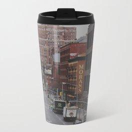 New York Street Metal Travel Mug