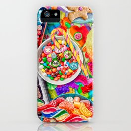 Candylicious iPhone Case