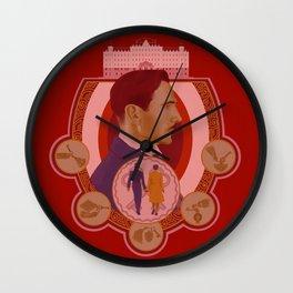 Grand Budapest Wall Clock