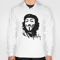 che Hoodies featuring Expect Che by rubbishmonkey